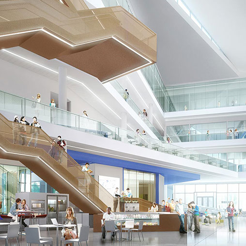 University Of Kansas Opens Newly Designed Business School Building | Press  Releases | News | Gensler