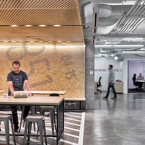 Office Garage By Ultra Architects: Northwestern University, The Garage