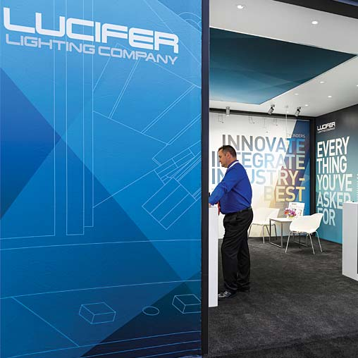 & Lucifer Lighting Company Tradeshow Booth | Projects | Gensler azcodes.com
