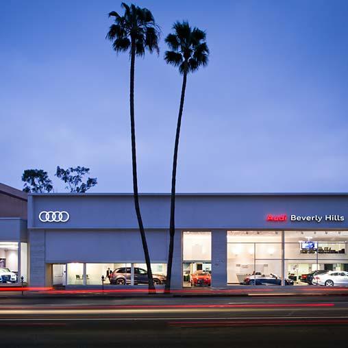 Fletcher Jones Audi Of Beverly Hills Projects Gensler