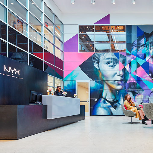 NYX Cosmetics Headquarters | Projects | Gensler