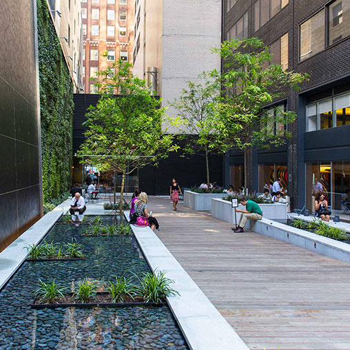 685 Third Avenue Pocket Park Projects Gensler