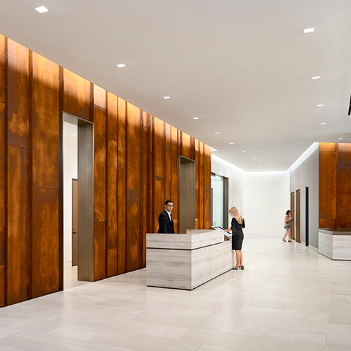 Aventine Lobby Repositioning Projects Gensler