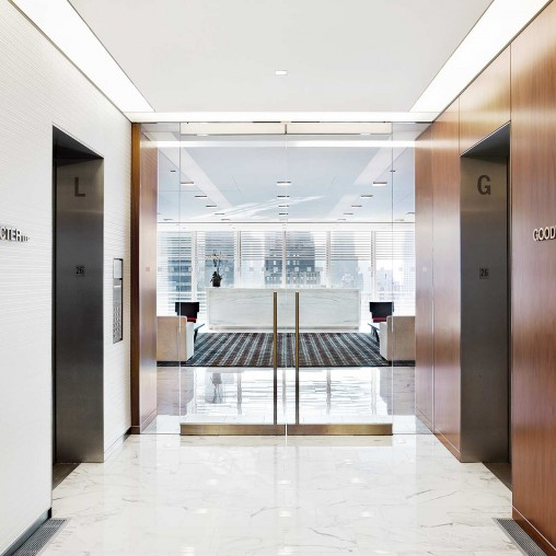 Goodwin Procter Llp New York Projects Gensler