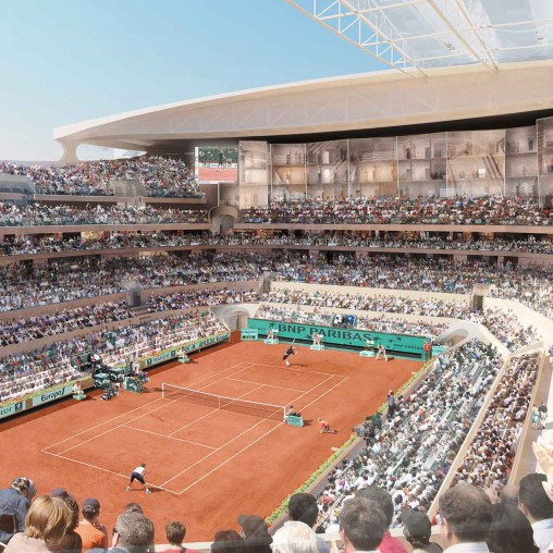 Roland Garros Stadium Projects Gensler