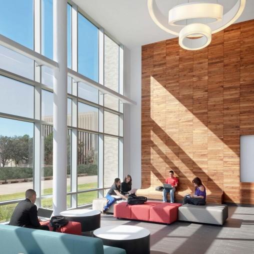 University Of Houston Classroom Business Building Projects Gensler