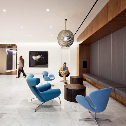 Venture capital firm offices Feldman Architecture Gensler Vista Equity Partners Projects Gensler