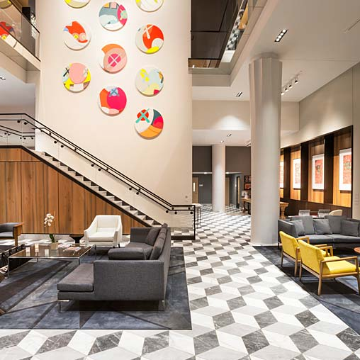 Le M Ridien Columbus The Joseph Hotel Projects Gensler