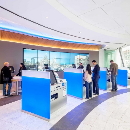 U S Consumer And Commercial Bank Projects Gensler