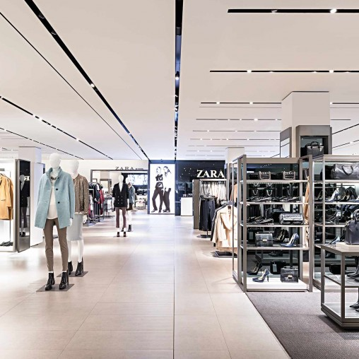 Summit Mall Stores >> Zara USA | Projects | Gensler