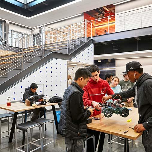 Dwight Englewood School Hajjar Stem Center Projects